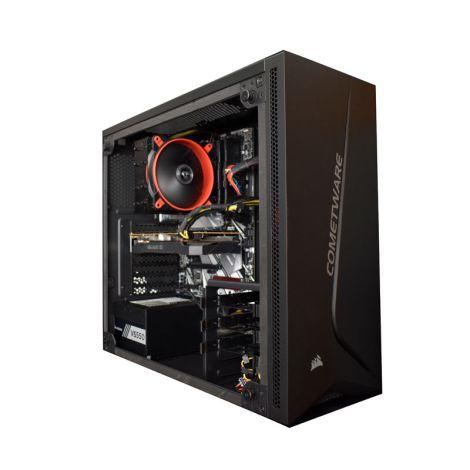 COMETWARE HALLEY Antares DSRZ3600XJB450 BT / WIFI Ryzen 5 3600X 3.8GHz 16GB DDR4 SSD 960GB + SSD 500GB M.2 NVME GTX 1660 6GB SUPER DIAGONAL