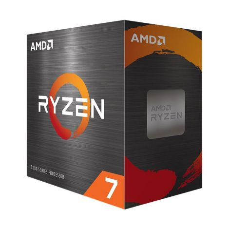 AMD Ryzen 7 5800X 3.8 GHz (4.7 GHz Turbo) 8 Core 100-100000063WOF Procesador diagonal