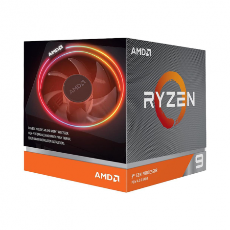 AMD RYZEN 9 3900X 12 Core 3.8 GHz (4.6 GHz Turbo)  100-100000023BOX Procesador empaque