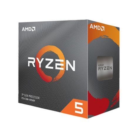 AMD Ryzen 5 3600 3.6 GHz (4.2 GHz Turbo) 6 Core 100-100000031BOX Procesador diagonal