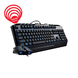 Cooler Master Devastator 3 PLUS RGB Combo Teclado Mouse SGB-3001-KKMF1-US Gaming free