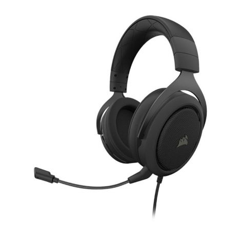 Corsair HS50 PRO CARBON CA-9011215-NA Audifonos Gamer diagonal