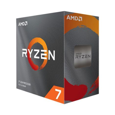 AMD Ryzen 7 3800XT 3.9 GHz (4.7 GHz Turbo) 8 Core 100-100000279WOF Procesador diagonal