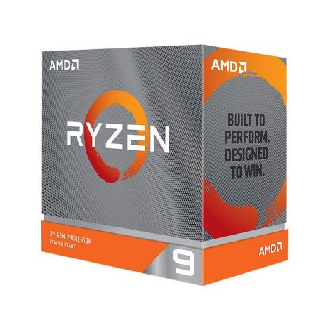 AMD Ryzen 9 3900XT 3.8 GHz (4.7 GHz Turbo) 12 Core 100-100000277WOF Procesador diagonal
