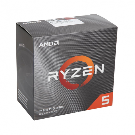 AMD Ryzen 5 3600 6 Core 3.6 GHz (4.2 GHz Turbo)  100-100000031BOX Procesador