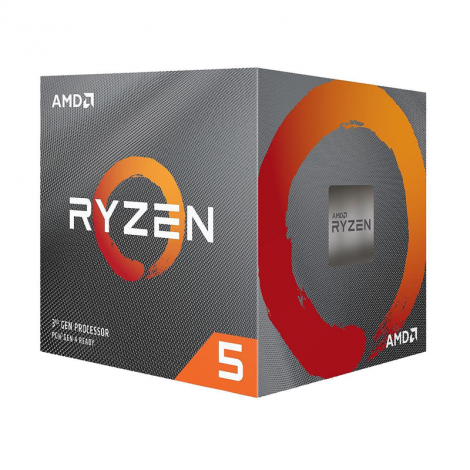 AMD Ryzen 5 3600X 6 Core 3.8 GHz (4.4 GHz Turbo) 100-100000022BOX Procesador