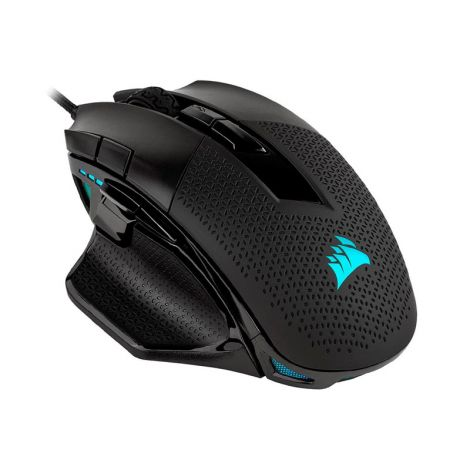 Corsair NIGHTSWORD RGB Negro CH-9306011-NA Mouse Gaming diagonal