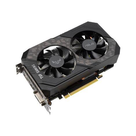 ASUS GeForce GTX 1660 SUPER TUF Gaming 6GB Dual Fan TUF-GTX1660S-O6G-GAMING Tarjeta de Video diagonal