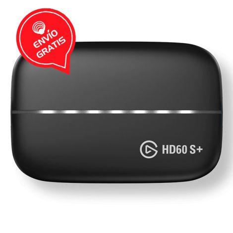 ELGATO HD60 S+ - GAME 1080 60 HDR Capturadora de Video Frontal Gratis