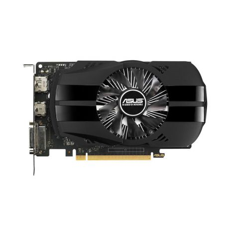 ASUS GTX 1050 Ti PHOENIX 4GB PH-GTX1050TI-4G Tarjeta de Video frontal