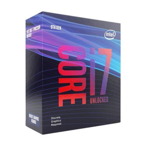 Intel Core i7 9700KF 8 Core 3.6 GHz (4.9 GHz Turbo) BX80684I79700KF Procesador Diagonal