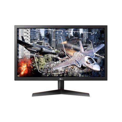 LG 23.6 24GL600F-B UltraGear FHD TN HDMI DP 144Hz 1ms Monitor Gamer  frontal
