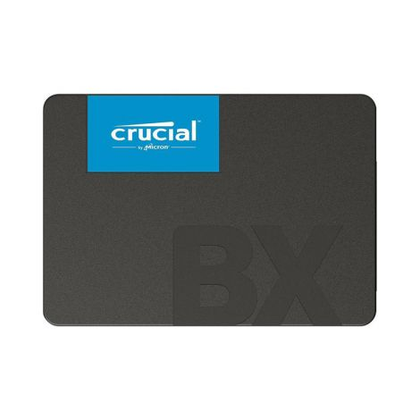"Crucial 480GB BX500 SATA III 2.5"" CT480BX500SSD1 Disco Duro FRONTAL"