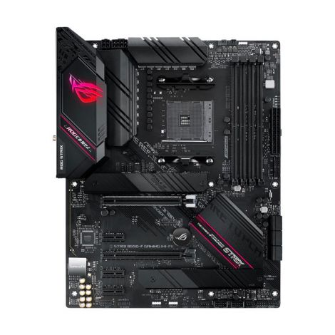 ASUS B550-F ROG STRIX WIFI AM4 AMD 128GB ATX RGB Board frontal