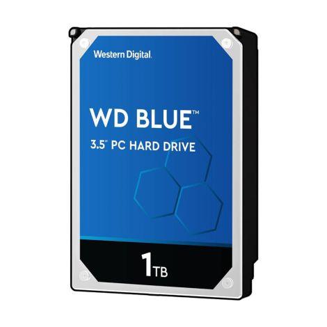 WD 1TB Blue 64MB SATA III WD10EZEX Disco Duro frontal