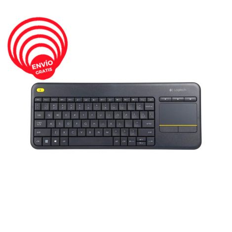 Logitech K400 Inalámbrico Smart Tv Plus 920-007123 Teclado frontal 1