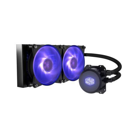 COOLER MASTER ML240L V2 RGB 2*120mm MLX-D24M-A20PC-R1 Refrigeracion Liquida diagonal