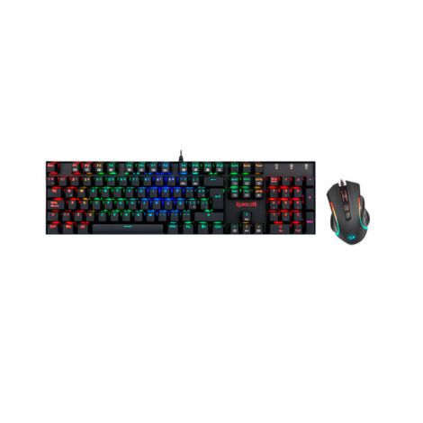 REDRAGON K551 RGB Combo Teclado Mouse Gaming frontal