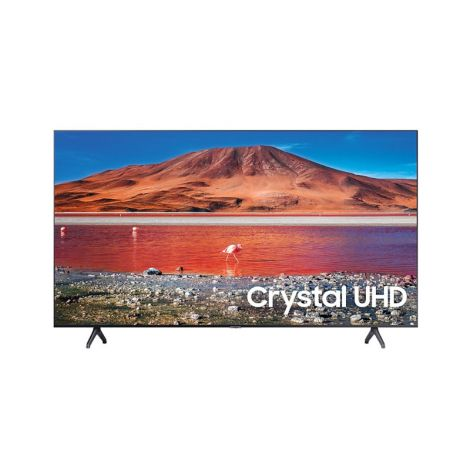 "SAMSUNG 55"" TU7000 Crystal UHD 4K Smart TV HDMI USB Televisor frontal"