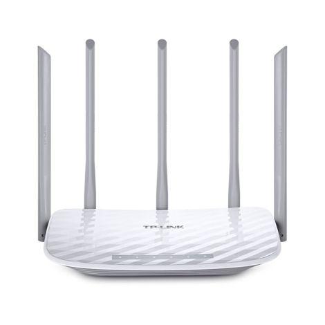TP-Link ARCHER C60 AC1350 Doble Banda Router Inalámbrico frontal