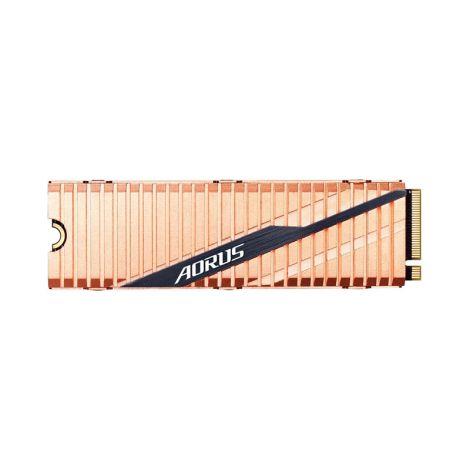 Gigabyte AORUS 500GB Nvme PCIe 4.0 x4 M.2 2280 GP-ASM2NE6500GTTD Disco Solido frontal