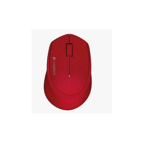 Logitech M280 2.4GHZ 1000 DPI Optico Inalambrico 910-004286 Rojo Mouse FRONTAL