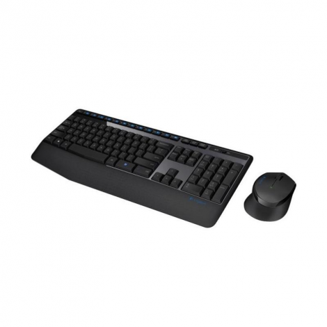 Logitech MK245 Inalámbrico Combo 920-007820 Teclado y Mouse frontal