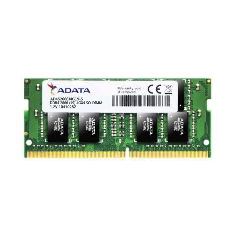 Adata Premier 4GB (1 x 4GB) DDR4 2666MHz SO-DIMM AD4S2666J4G19-S Memoria para Portatil frontal