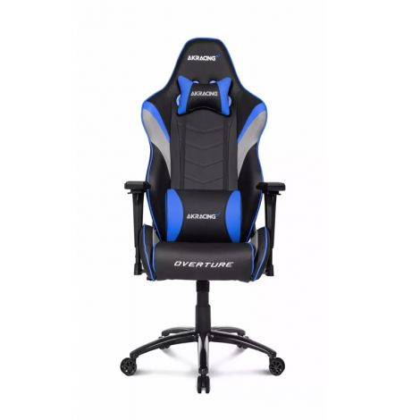 AKRACING Overture Series Azul AK-OVERTURE-BL Silla Gamer frontal