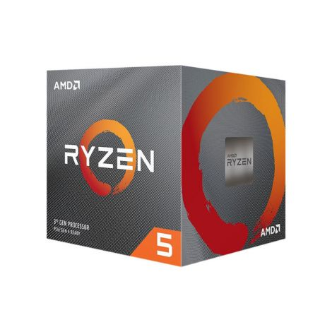 AMD Ryzen 5 3600XT 3.8 GHz (4.5 GHz Turbo) 6 Core 100-100000281BOX Procesador frontal