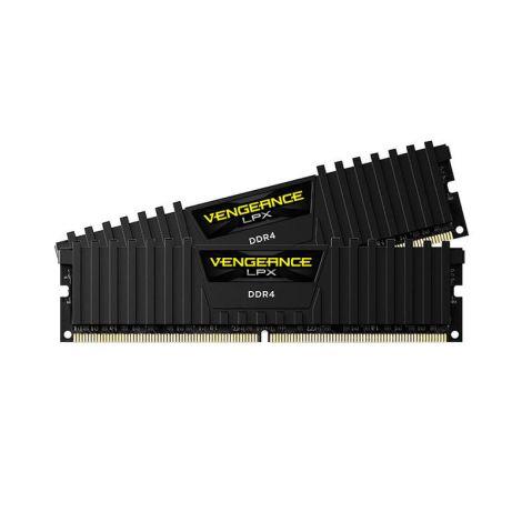 Corsair Vengeance LPX 16GB (2X8GB) DDR4 3600MHZ Negra CMK16GX4M2Z3600C18 Memoria frontal