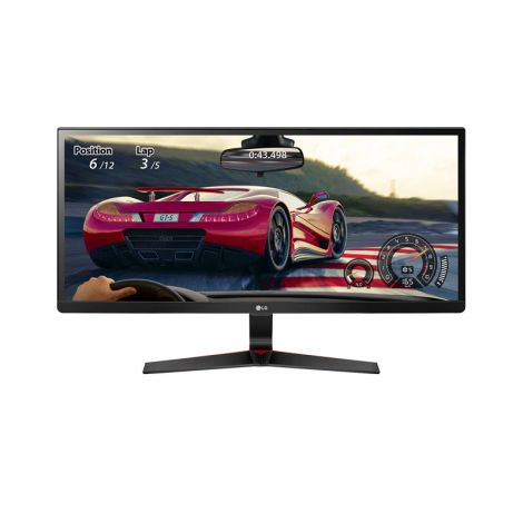 "LG 29"" 29UM69G-B IPS FHD HDMI DP 75Hz 5ms Monitor Gamer frontal"