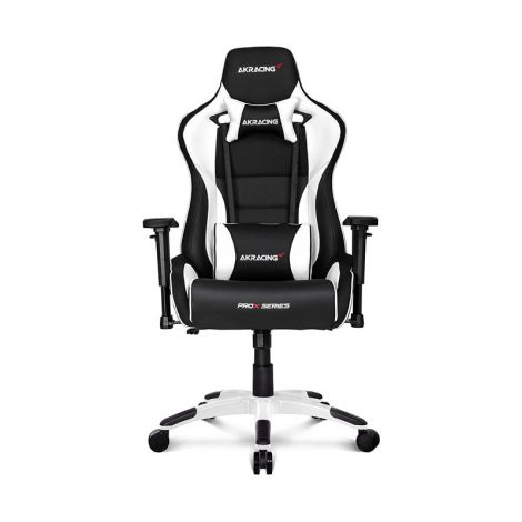 AKRACING Prox Sweries Blanca Silla Gamer frontal