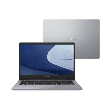 "ASUS ExpertBook (B5440FA-BM0819R) 14"" FHD i5-8265U 8GB Graphics UHD 512GB NVMe Portátil frontal"