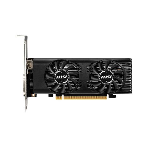 MSI GTX 1650 LP OC 4GB Dual Fan Tarjeta de Video frontal