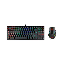 REDRAGON K552-RGB-BA Combo Teclado Mouse Gaming frontal