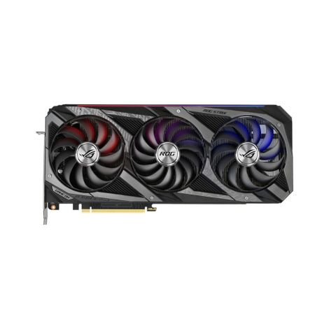 ASUS RTX 3060 Ti ROG STRIX 8GB 3 Fan ROG-STRIX-RTX3060TI-O8G-GAMING RGB Tarjeta de Video frontal