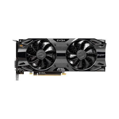 EVGA RTX 2060 8GB Super SC ULTRA GAMING RGB 08G-P4-3067-KR Tarjeta de Video frontal