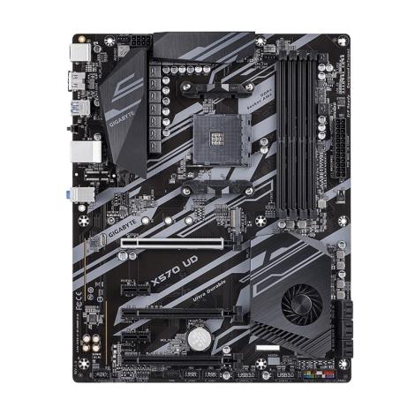 GIGABYTE X570 UD AM4 AMD Atx Board frontal