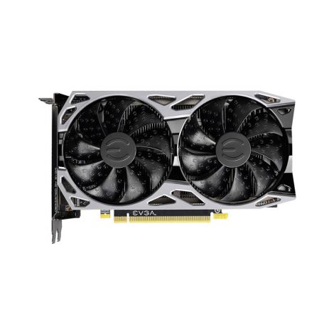 EVGA GTX 1660 6GB SC ULTRA GAMING 06G-P4-1067-KR Dual Fan Tarjeta de Video frontal
