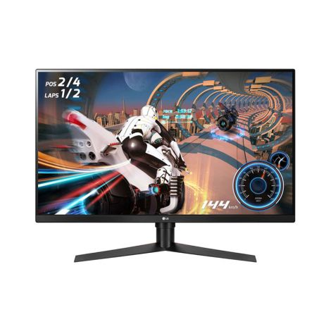 "LG 31.5"" 32GK650F-B 2K QHD VA HDMI DP 144Hz 5ms Monitor frontal"