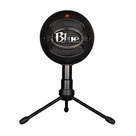 BLUE Snowball Ice Negro usb Streaming 988-000067 Micrófono FRONTAL