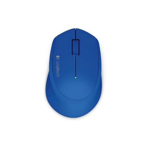 Logitech M280 2.4GHZ 1000 DPI Optico Inalambrico 910-004361 Azul Mouse frontal