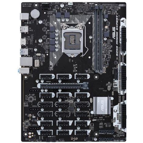 ASUS B250 MINING EXPERT 16 GPU LGA 1151 Intel 16 gpu Atx Board frontal