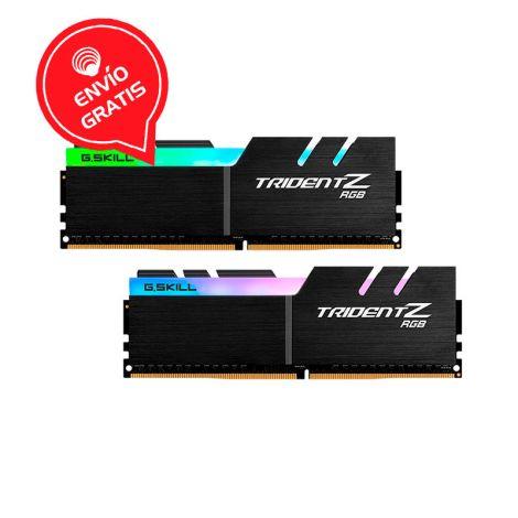 G.SKILL 64GB 3600MHZ  (2*32) TRIDENT-Z RGB DDR4 DISIPADA Memoria RAM frontal