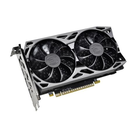 EVGA GTX 1650 4GB XC ULTRA GAMING 04G-P4-1057-KR Tarjeta de Video Diagonal
