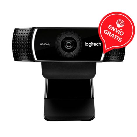 LOGITECH C922 FHD 60 FPS PRO STREAM 960-001087 Camara Web Gratis