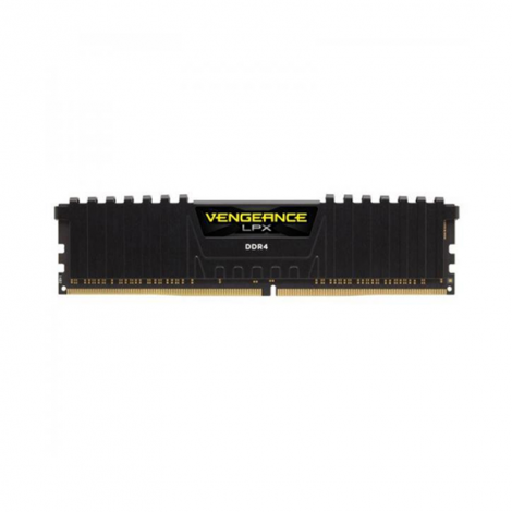 Corsair Vengeance LPX 16GB DDR4 3200MHz Negra CMK16GX4M1E3200C16 Memoria FRONTAL