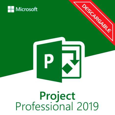 Microsoft Project PRO 2019 H30-05756 ESD Licencia