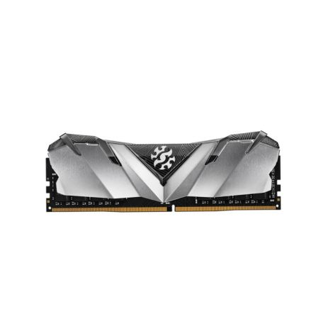 ADATA XPG MEMORIA 8GB 3200MHZ RGB GAMMIX D30 AX4U320038G16A-SB30 negra Memoria RAM frontal